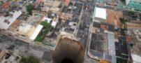 بزرگ ترین و ترسناک ترین چالههای طبیعی دنیا (عکس)
