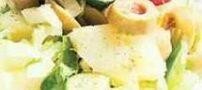 طرز تهیه سالاد سیبزمینی ایتالیایی رژیمی