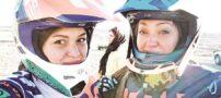 موتورسواری نیکی کریمی !+ عکس