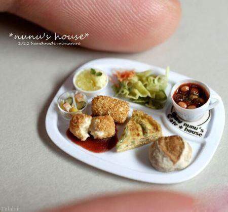 عکس های غذاهای خوشمزه مینیاتوری