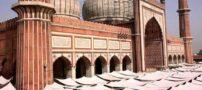 مسجد جامع زیبای دهلی (عکس)