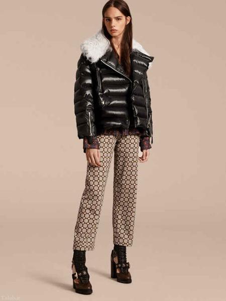 مدل های زمستانی کت و پالتوهای زنانه بربری Burberry