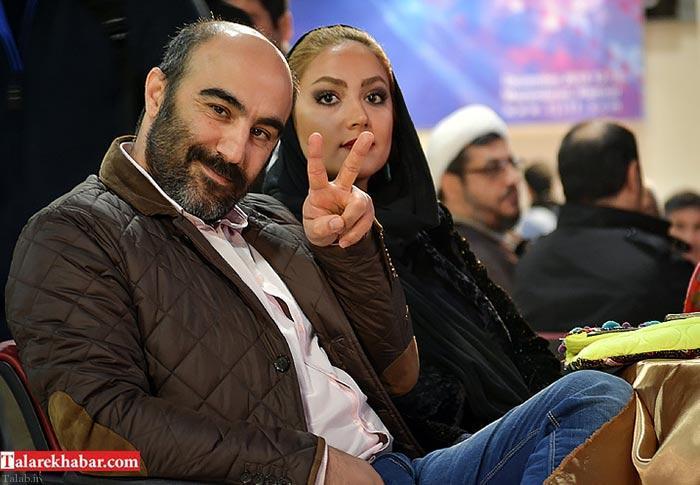 محسن تنابنده و همسرش در اختتامیه جشنواره یاس + تصاویر
