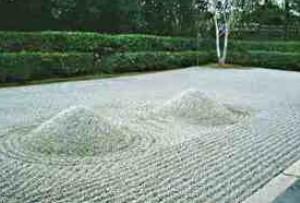 باغهای شنی سمبل چه هستند؟