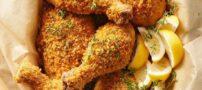 نحوه تهیه مرغ سوخاری بدون روغن