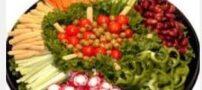 نحوه تهیه سینی سبزیجات