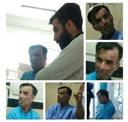 بستری شدن نادر بروسلی در بیمارستان (عکس)