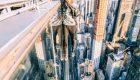 عکس های هیجان انگیز این پسر با بالا رفتن از برج های بلند نیویورک