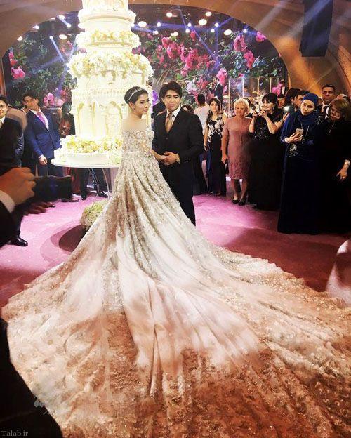 مجلل ترین عروسی در دنیا (+عکس)