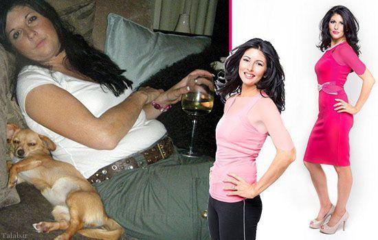 زنی که با لاغر کردن از شوهرش انتقام گرفت (عکس)