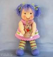 داستان زیبای عروسک بافتنی