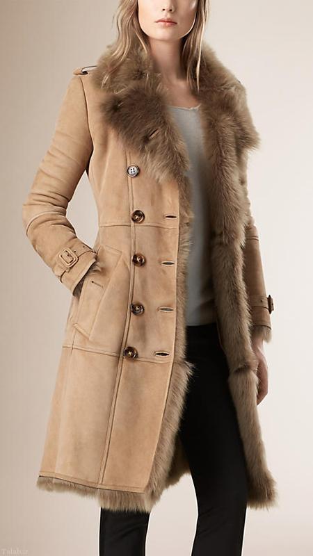 جدیدترین مدلهای کت و پالتو زمستانی برند بربری