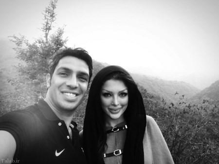 عکس های عاشقانه چهره های مشهور ایرانی در کنار همسرانشان