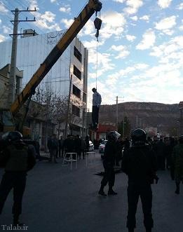 اعدام مرد متجاوز به عنف در ایلام !+ عکس