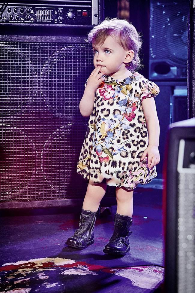 برترین مدل های لباس بچگانه دخترانه  Roberto Cavalli
