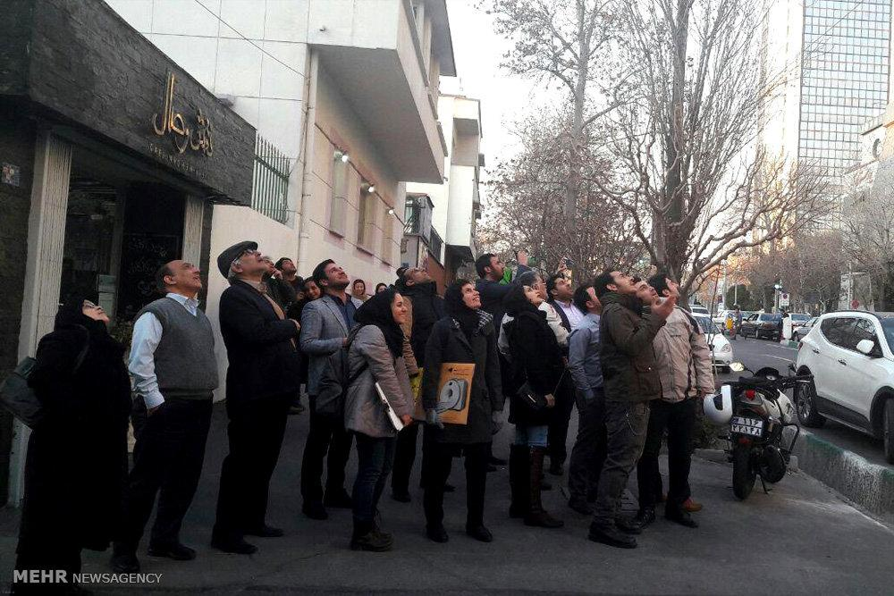 ماجرای تیراندازی در خیابان انقلاب معلوم شد + عکس
