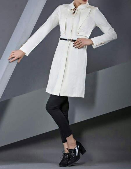 مدلهای مانتو رنگی و طرح دار جدید 98