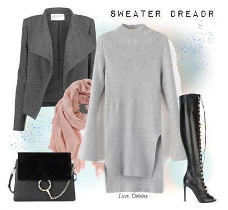 ست های لباس زیبا زمستانی برای خانم ها