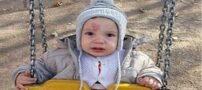 علامت قلب حک شده روی پیشانی نوزاد !+ تصاویر