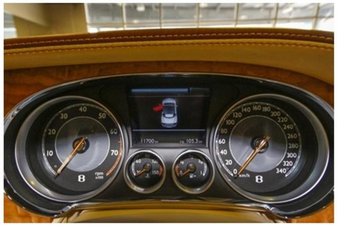 فروش ماشین بنتلی طلایی در تهران + قیمت
