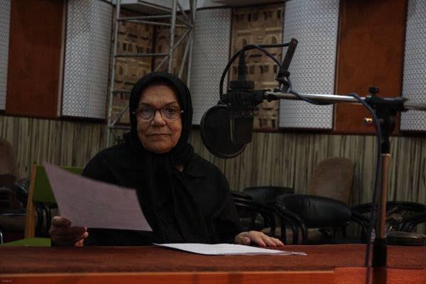 ابراز دلتنگی بازیگر ایرانی به تلویزیون (عکس)