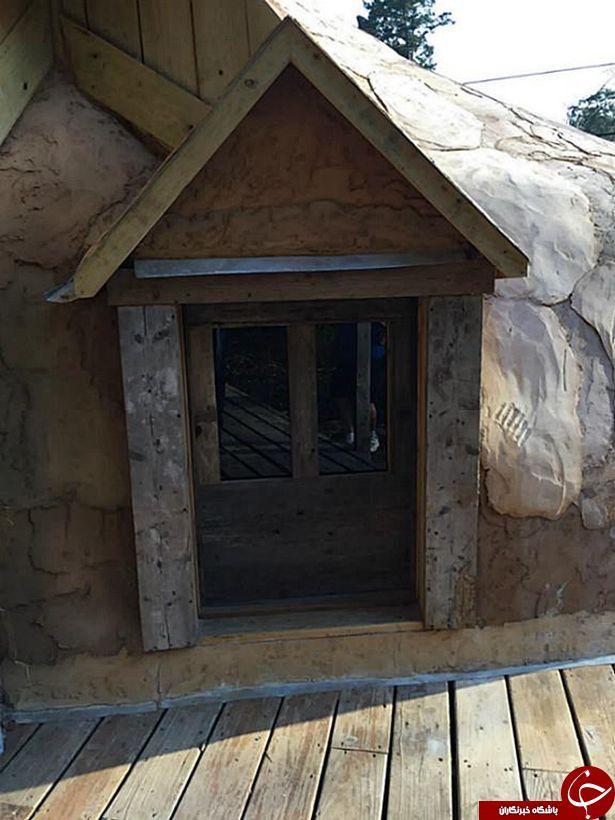 تصویر جالب خانه ای که به شکل چکمه درست شده است