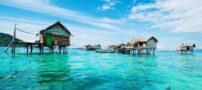 قبیله ناشناس باجائو که در دریا زندگی میکنند + عکس