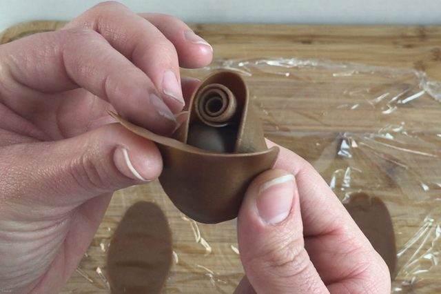 طراحی جالب گل شکلاتی + عکس