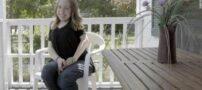 دختری زیبا با بیماری فیبرودیسپلازی استخوانی