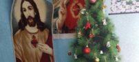 کوچک ترین کلیسای ایران و جشن کریسمس