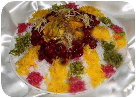 طرز تهیه آلبالو پلو اصیل ایرانی با طعم خاص