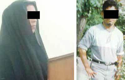 خیانت زن شوهردار و خفه کردن شوهر + عکس
