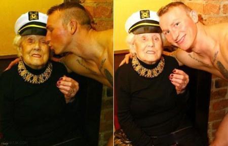 برهنه شدن پسر جوان جلوی پیرزن 100 ساله