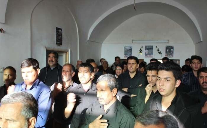 مراسم ختم در خانه پدری آیت الله هاشمی رفسنجانی + عکس