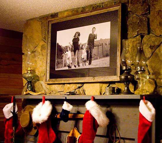 چگونه عکس های خانوادگی را در منزل قرار دهیم