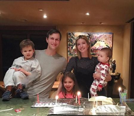 عید کریسمس دونالد ترامپ و پنج فرزندش