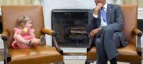 تصاویری جالب از اوباما در کاخ سفید