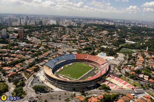 تصاویری از عجیب ترین استادیوم های ورزشی جهان ! + عکس 1