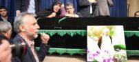 مراسم وداع با پیکر آیت الله هاشمی در حسینیه جماران