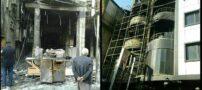 5 کشته و 2 مجروح در آتش سوزی در هتل زائران ایرانی