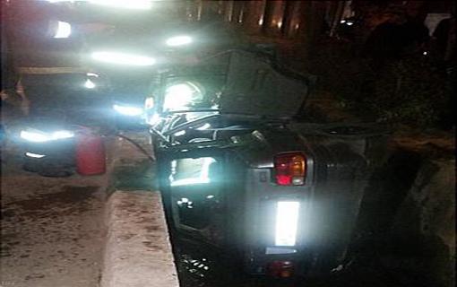 حادثه وحشتناک پراید با تریلی در تهران + عکس
