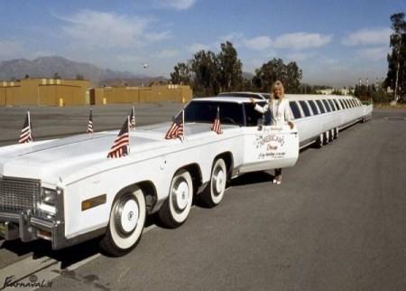 طولانی ترین خودرو لیموزین دنیا (+عکس)