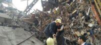 ریزش ساختمان نیم قرنی پلاسکو در تهران + عکس و گزارش کامل
