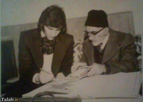 عکس لحظه عقد و ازدواج ناصر حجازی