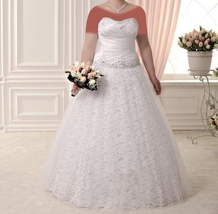 مدل های لباس عروس برای خانم های با وزن بالا