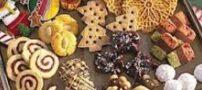 آموزش انواع شیرینی خشک
