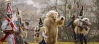 فستیوال رقص با لباس حیوانات در کشور اسپانیا + عکس