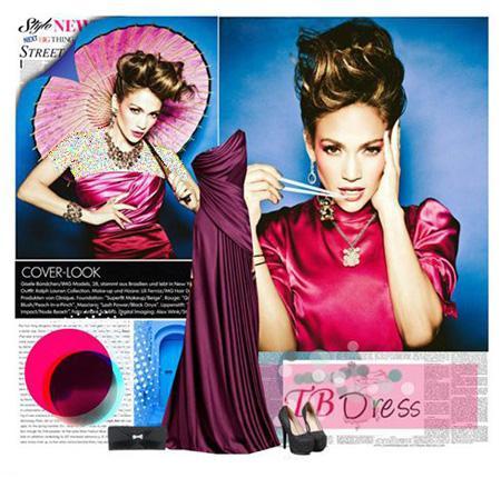 تصاویر مدل لباس های زیبا از هنرمند سلبریتی جنیفر لوپز