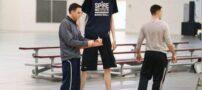تصویری از بلندترین بسکتبالیست مرد جهان