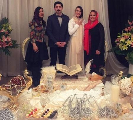تصاویر داغ از عروسی دیده نشده حدیث میر امینی